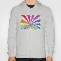 Rainbow-Peacock Hoody