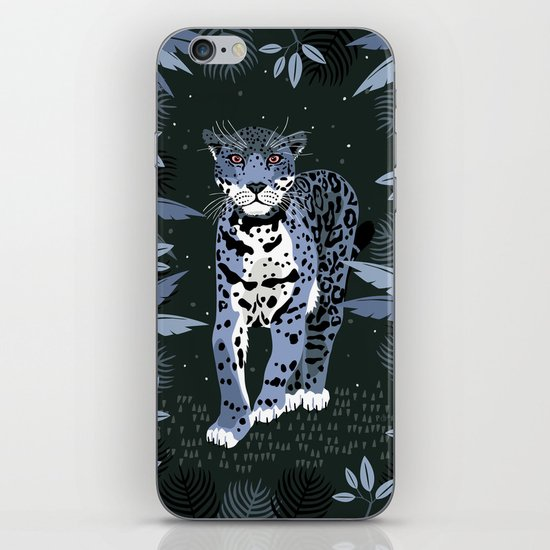 Midnight Jaguar iPhone & iPod Skin