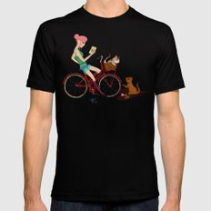 Love Letters SMALL Mens Fitted Tee Black
