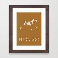 Hidalgo Framed Art Print