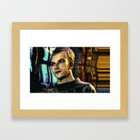 Crash Override Framed Art Print