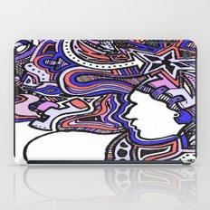 Salmon Techno iPad Case
