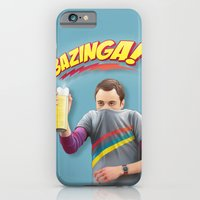 Sheldon  - BAZINGA! iPhone 6 Slim Case
