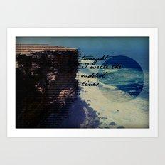 Neruda: Tonight I Can Write the Saddest Lines Art Print