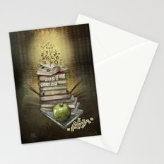 Read Books Stationery Cards