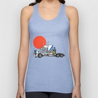 No Trouble in Little Japan Unisex Tank Top