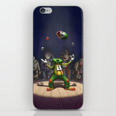 A Hard Act to Follow iPhone & iPod Skin