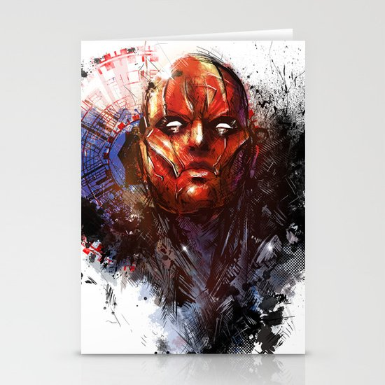 Red Hood Stationery Card