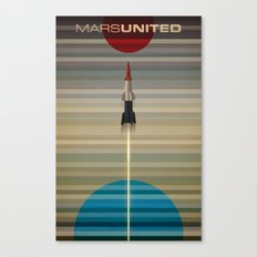 MarsUnited Liftoff Canvas Print