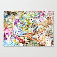 Confusing Colors Canvas Print