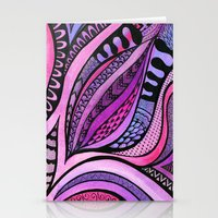 Tangle Tuliping Stationery Cards