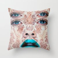 Baroque Perception Throw Pillow