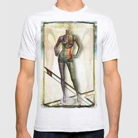 Mannequin Mens Fitted Tee Ash Grey SMALL