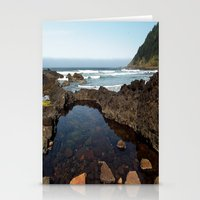 Cape Perpetua Tide Pool Stationery Cards