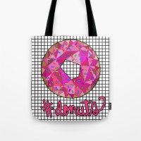 #donuts Tote Bag