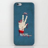 Who want some peace? iPhone & iPod Skin