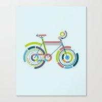 Bicyrcle Canvas Print