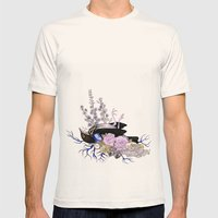 Memento Mori Mens Fitted Tee Natural SMALL