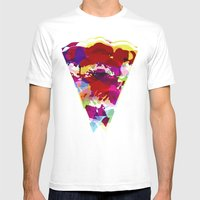 Acid Pizza Mens Fitted Tee White SMALL