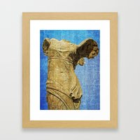 angel wings Framed Art Print