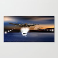 Coming In Canvas Print
