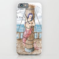 iPhone & iPod Case featuring Mermaid by Liviu Matei