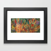 Nothingness to Hide Framed Art Print
