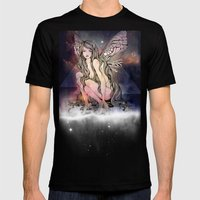 Flight revamped Mens Fitted Tee Black SMALL
