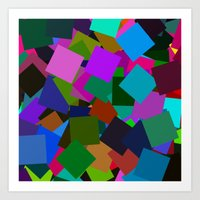 Squares From Arlo Take #… Art Print