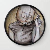 Coy conformity Wall Clock