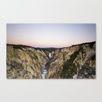 Dawn, Grand Canyon of the Yellowstone Canvas Print