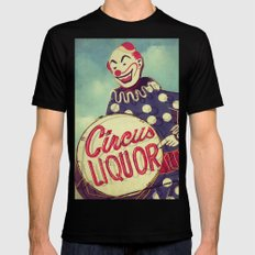 Circus Liquor, N. Hollywood, CA. SMALL Black Mens Fitted Tee