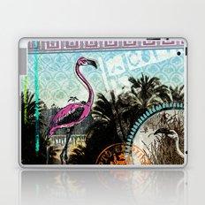 Palm trees and flamingos Laptop & iPad Skin