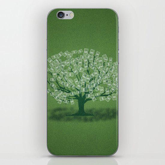 Money Tree iPhone & iPod Skin