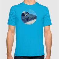 Waiting For You Mens Fitted Tee Teal SMALL