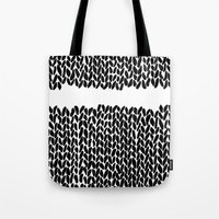 Missing Knit     Tote Bag