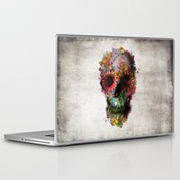 dream Laptop & iPad Skins featuring SKULL 2 by Ali GULEC
