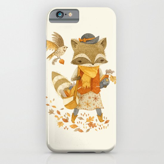 Rebecca the Radish Raccoon iPhone & iPod Case