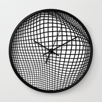 Breakthrough Wall Clock