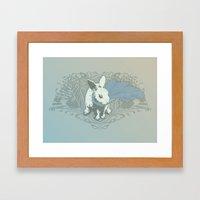 Fearless Creature: Rabz Framed Art Print