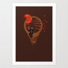Here Am I Art Print