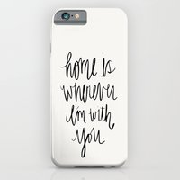 iPhone & iPod Case featuring Home Is Wherever I'm With You by Jen Posford