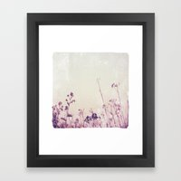 Landscape 1 (red Tones) Framed Art Print