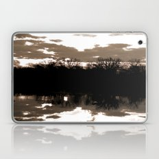 halloween sunrise Laptop & iPad Skin