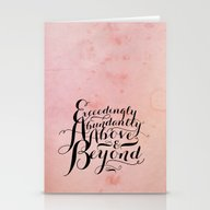 Eph 3-20 Exceedingly Stationery Cards