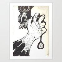 Under My Skin Art Print