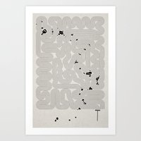Zen Garden. Art Print