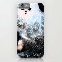 iPhone & iPod Case featuring Celestial Cats - The Persian and the Ashes of the First Stars by Zippora Lux