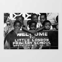 Little London in Jamaica Canvas Print