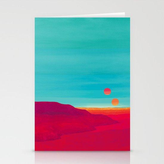Far Away Stationery Card